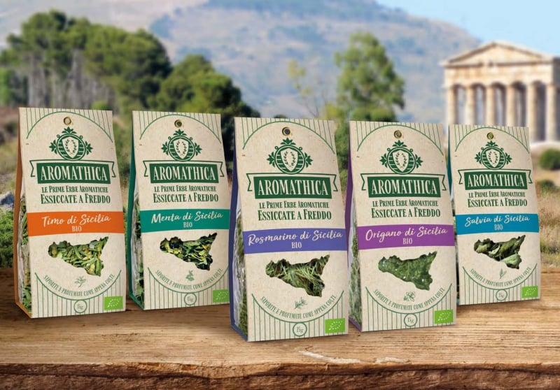 Aromathica - le prime erbe aromatiche essiccate a freddo