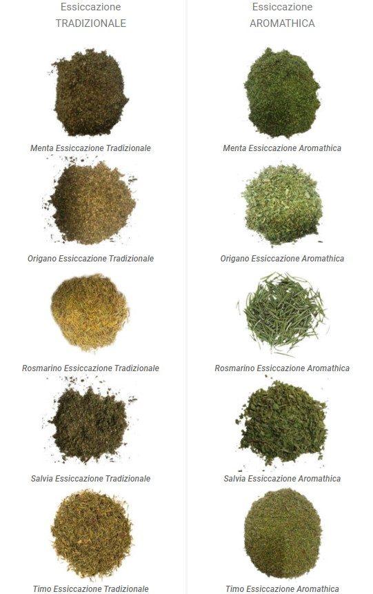 aromathica vs tradizionale